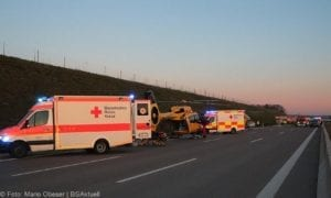 Unfall A8 Kreis GZ Burgau-Günzburg 21032019 27