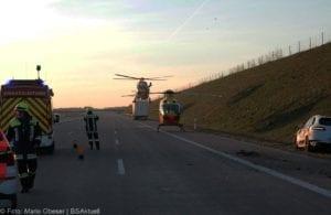 Unfall A8 Kreis GZ Burgau-Günzburg 21032019 4