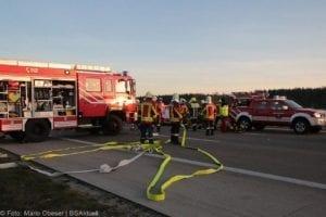 Unfall A8 Kreis GZ Burgau-Günzburg 21032019 9
