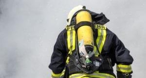 Atemschutz Geräteträger Feuerwehrmann