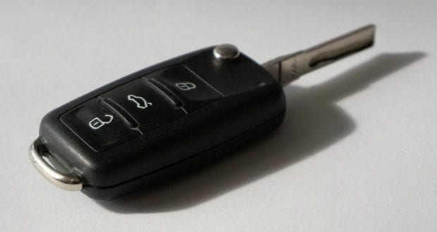 Ein Autoschlüssel