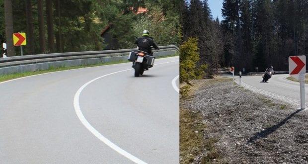 Bayerisches Verkehrsministerium Pilotprojekt Motorradfahrer