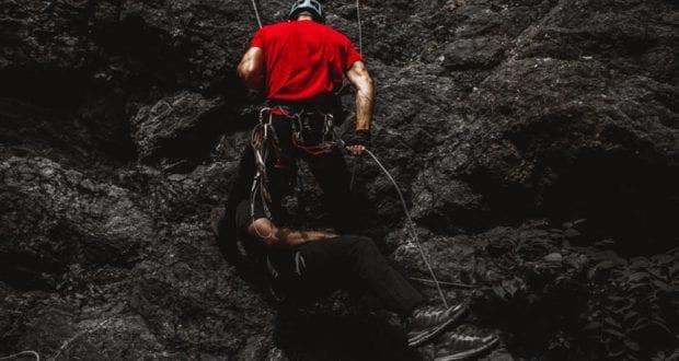 Bergsteiger Kletterer