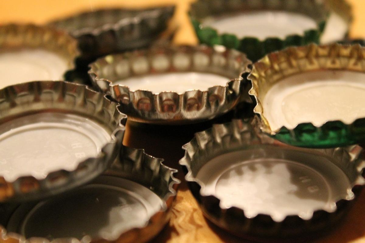Bier Kronenverschluss