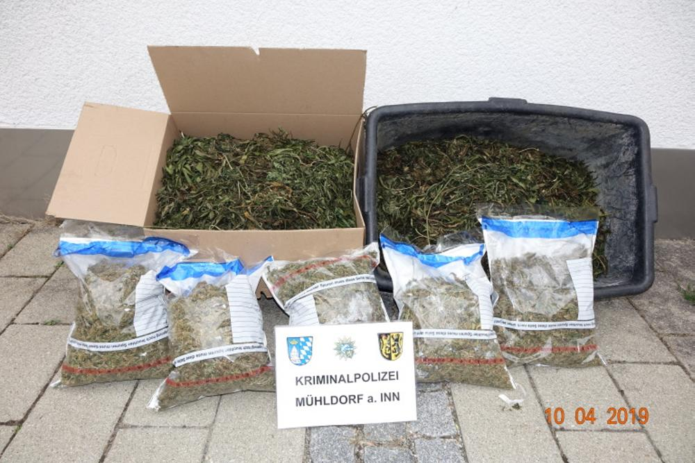 Cannabisplantage Kreis Altötting
