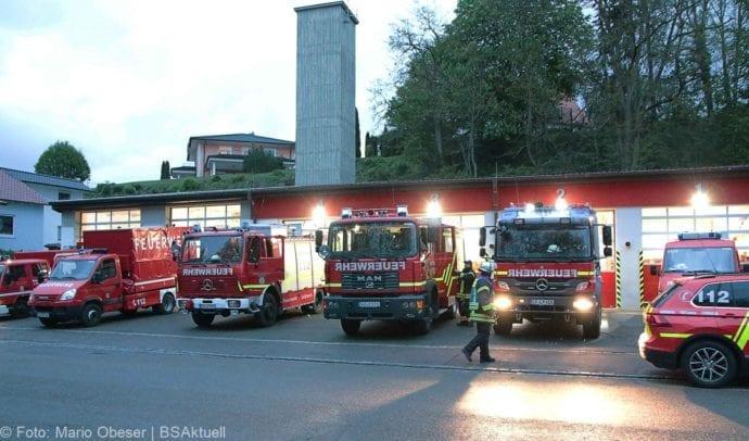 Feuerwehr Leipheim Vermisstensuche 13jähriger 26042019