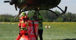 Fortbildung Waldbrandbekämpfung Feuerwehr Günzburg