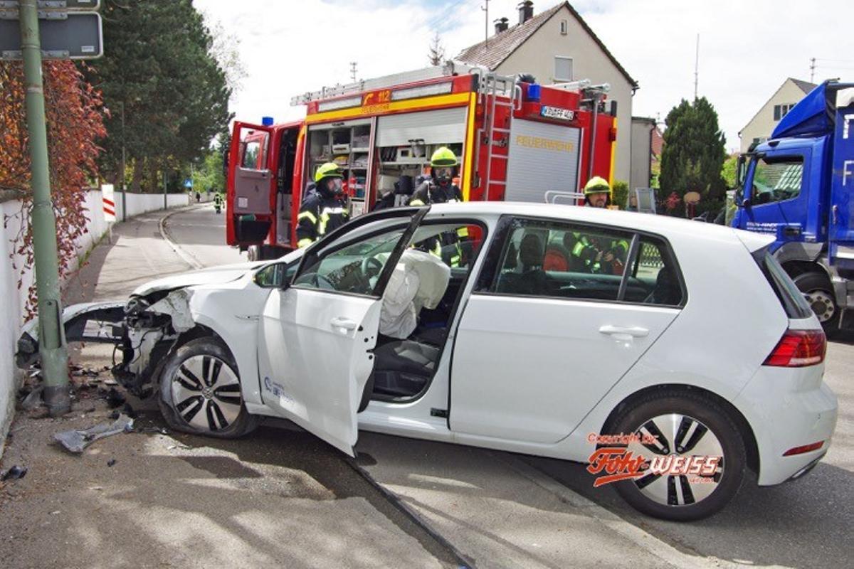 Krumbach Unfall Babenhausener Straße 25042019