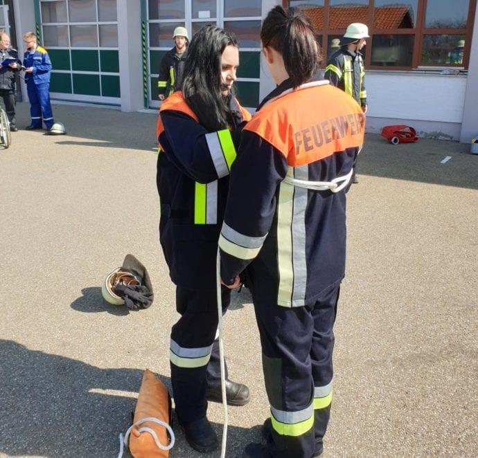 Modulare Truppausbildung Feuerwehr Günzburg 1