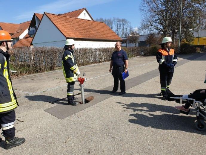 Modulare Truppausbildung Feuerwehr Günzburg 2