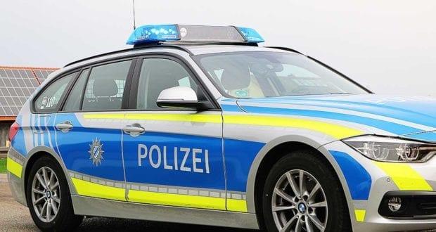 Polizeifahrzeug Polizei Bayern