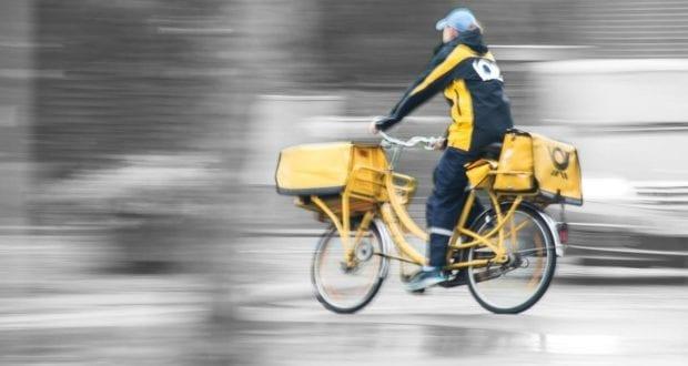 Postbote Fahrrad