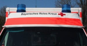 Rettungswagen Dach