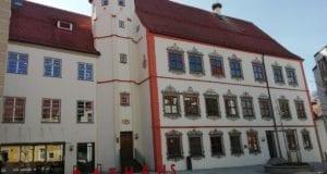 Schlossplatz Weißenhorn Landkreis Neu-Ulm