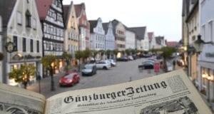 Stadt Günzburg Schlagzeilenführung