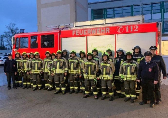 Technische Hilfeleistung Silber bis Gold-Blau Feuerwehr Günzburg 1