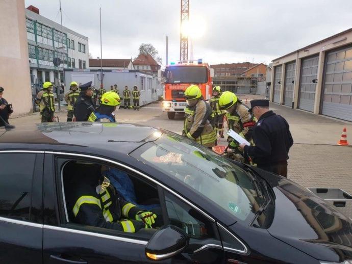Technische Hilfeleistung Silber bis Gold-Blau Feuerwehr Günzburg 2
