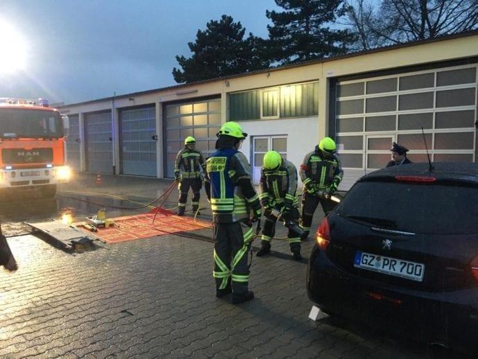 Technische Hilfeleistung Silber bis Gold-Blau Feuerwehr Günzburg