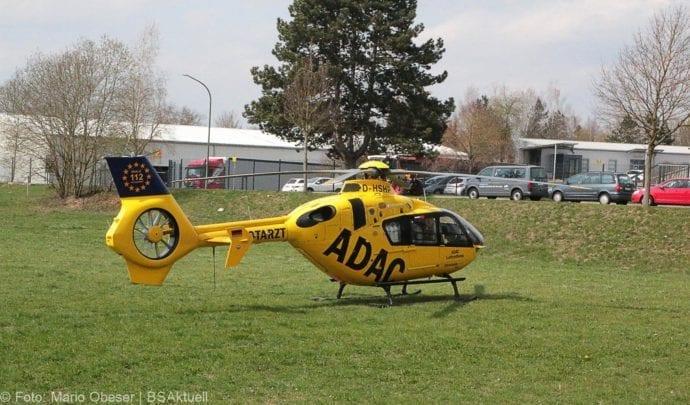 Unfall Ichenhausen Pkw erfasst Kind auf Roller 03042019 10