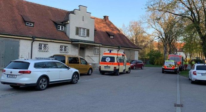 Vermisstensuche Günzburg BKH Frau 18042019 10
