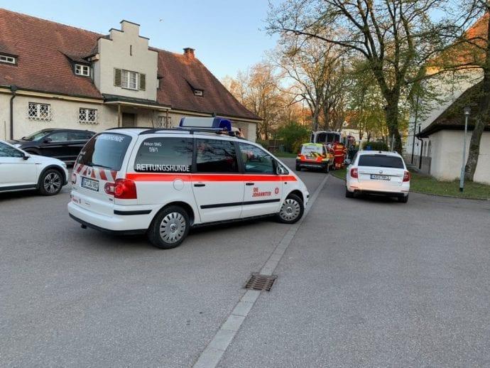 Vermisstensuche Günzburg BKH Frau 18042019 16