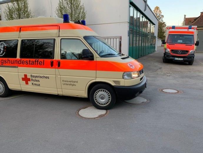 Vermisstensuche Günzburg BKH Frau 18042019 18