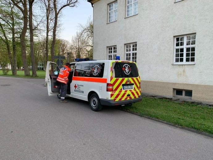 Vermisstensuche Günzburg BKH Frau 18042019 19