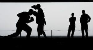Boxkampf Boxen
