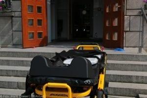 Brand BKH Patientin zündet Bettdecke an 24052019 25