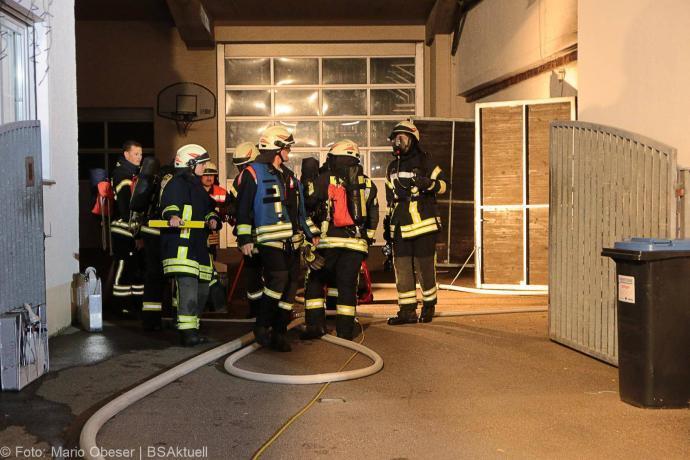 Brand Garagenwerkstatt Jettingen Hauptstraße 12052019 13