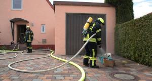 Brand Keller Offingen heiße Asche 10.05.2019