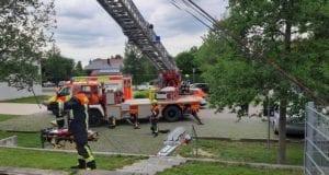 Feuerwehr Lauingen Kellerschacht Schule Sturz Mädchen