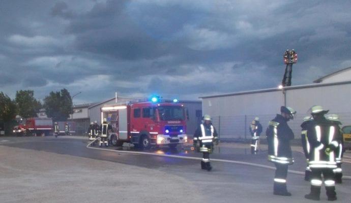 Feuerwehr Thannhausen Einsatzübung Inspektion 2019