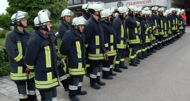Feuerwehr Thannhausen Inspektion 2019 Mannschaft
