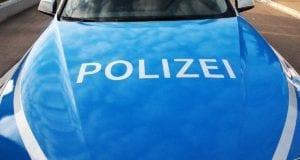 Polizeifahrzeug Front
