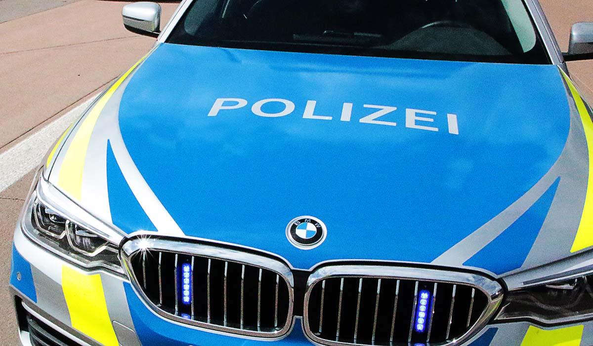 Polizeifahrzeug Frontblitzer