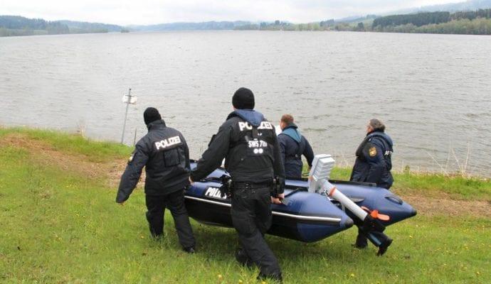 Polizeipräsidium Schwaben Süd West Schnelleinsatzboot