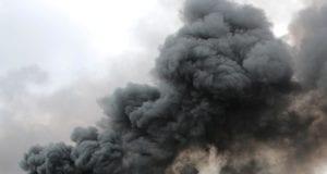 Rauchwolke Brand Feuer