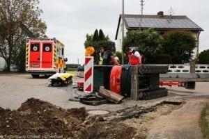 Rettenbach Arbeitsunfall Minibagger umgekippt 16052019 1