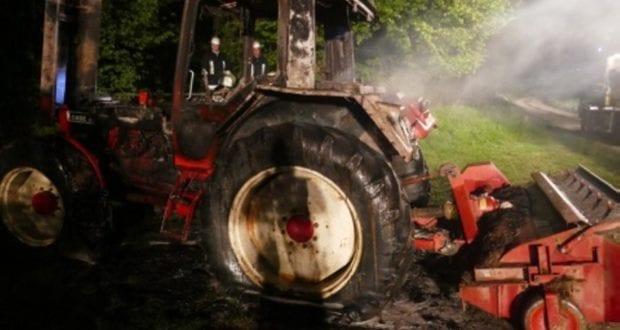 Tapfheim Traktorbrand 03.05.2019