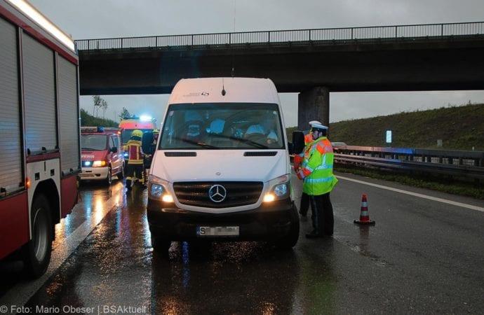 Unfall A8 AS Oberelchingen – Kreuz Ulm Elchingen 21052019 14