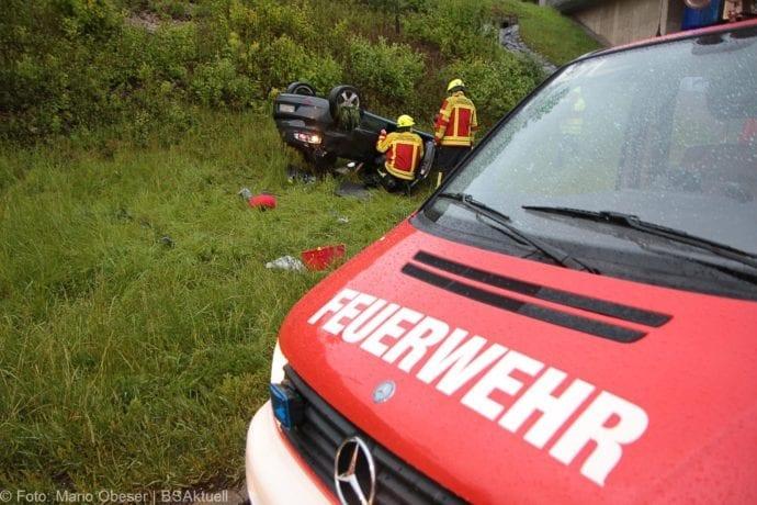 Unfall A8 AS Oberelchingen – Kreuz Ulm Elchingen 21052019 16