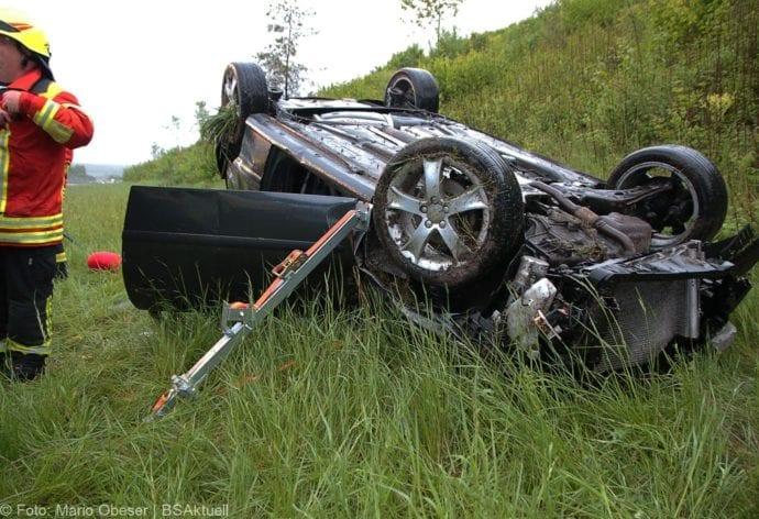 Unfall A8 AS Oberelchingen – Kreuz Ulm Elchingen 21052019 7