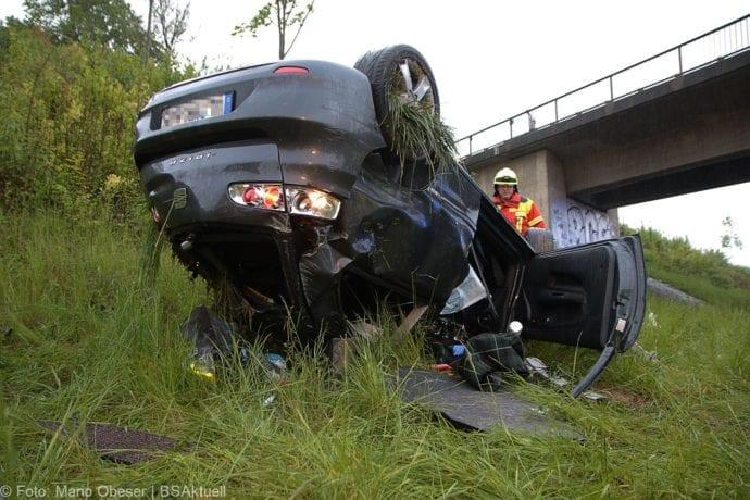 Unfall A8 AS Oberelchingen – Kreuz Ulm Elchingen 21052019 8