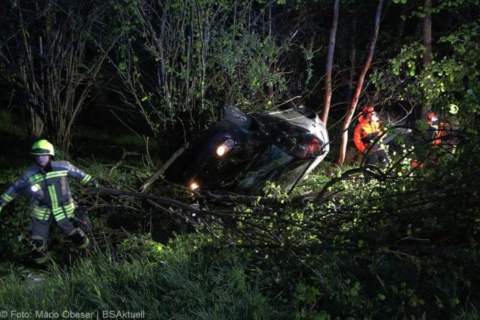 Unfall A8 Günzburg-Leipheim 04052019 17