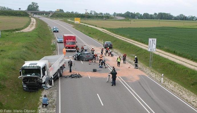 Unfall B16 Donaualtheim 29052019 12