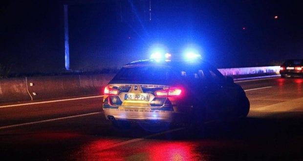 Autobahnpolizei-Polizeifahrzeug neutral