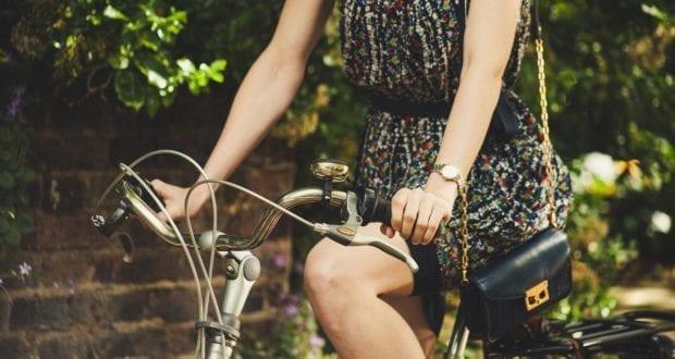 Fahrrad Fahrradfahrerin