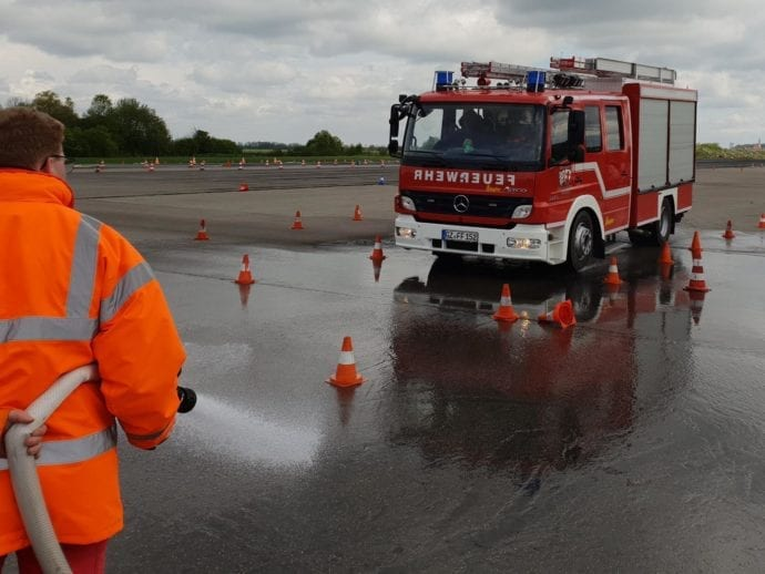 Feuerwehr Günzburg Fahrsicherheitstraining 2019 1