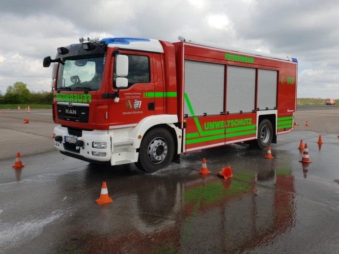 Feuerwehr Günzburg Fahrsicherheitstraining 2019 2